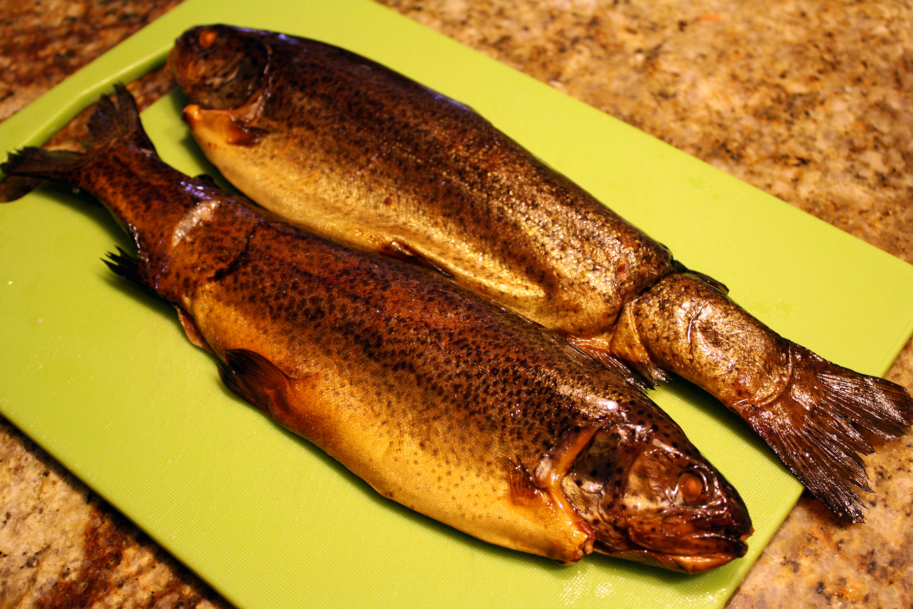 how to cook smoked trout